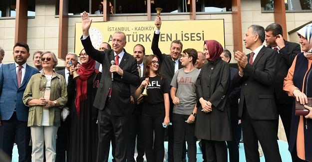 Cumhurbaşkanı Recep Tayyip Erdoğan: Aslan Payını Eğitim Öğretime Ayırdık