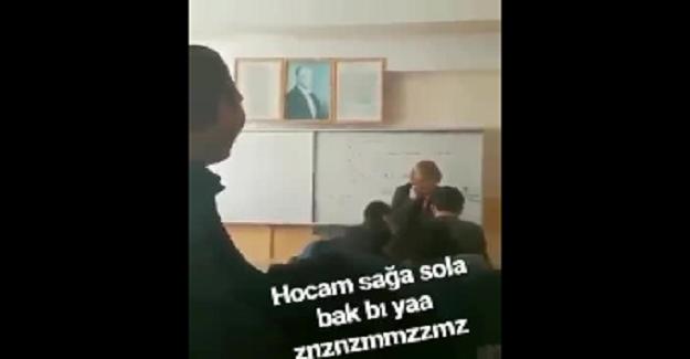Eğitimde gelinen son nokta ! Öğretmeni bu hale düşürenler utansın !