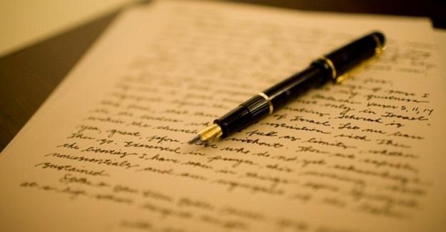 Öğretmenden öğrencisine mektup