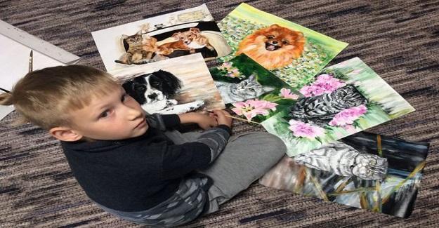9 Yaşındaki Küçük Çocuk Hayvan Barınaklarına Destek Olmanın Harika Bir Yolunu Buldu