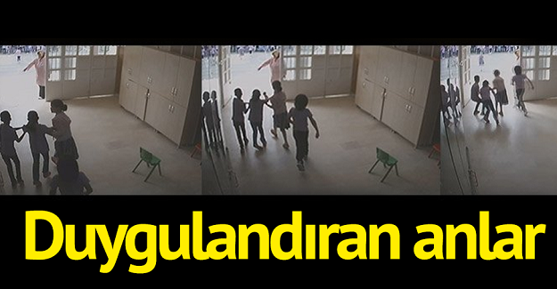 Geçen Hafta Meydana Gelen Deprem Esnasında Bir Okulda Çekilen Görüntüler: İşte O Duygulandıran Anlar