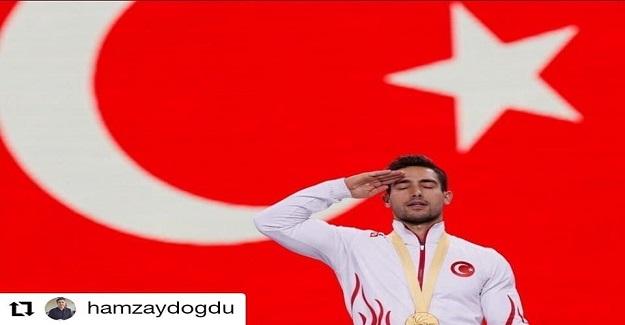 İzmir Aliağa Helvacı Ortaokulu Beden Eğitimi Öğretmeni İbrahim Çolak,Almanya'da Artistik Cimnastik Dünya Şampiyonası'nda altın madalya kazandı