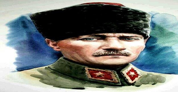 Mustafa Kemal Atatürk'ün hayli ilginç bir özelliği şudur