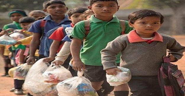 Okul Ücreti Olarak Plastik Atık Talep Eden Bir Okul!