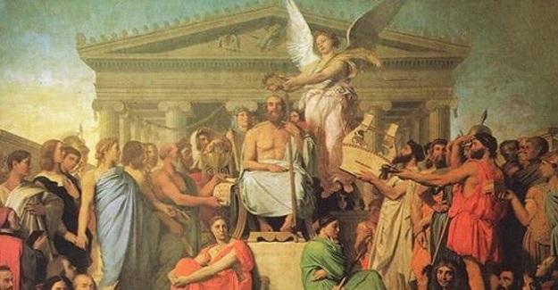 """Şimdiki kuşağın Yunan öğretmenlerine, muhtemelen """" Atalarımız zamanında ne de boş bir hayale kapılmışlar"""" dedirten ütopik kavram"""