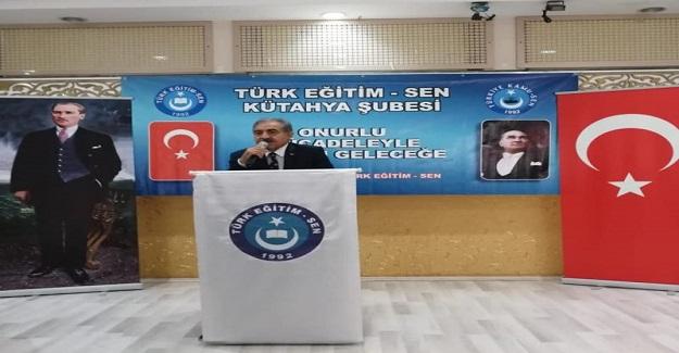 Türk Eğitim Sen Kütahya Şube istişare toplantısı düzenledi.