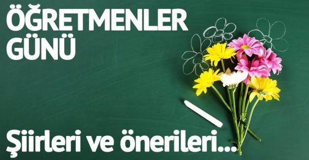 24 Kasım Öğretmenler Günü ile ilgili şiirler