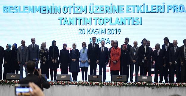 """BESLENMENİN OTİZM ÜZERİNDEKİ ETKİLERİ"""" PROJESİ"""