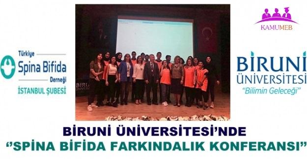 Biruni Üniversitesi'nde ''Spina Bifida Farkındalık Konferansı'