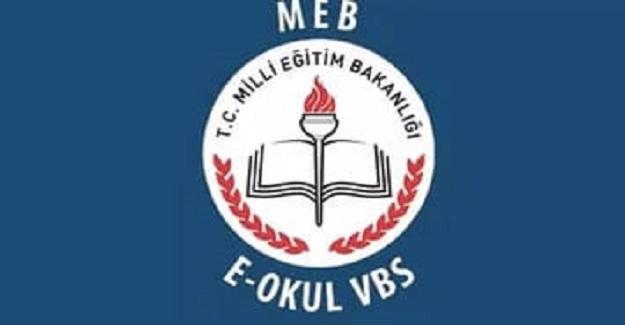 E-OKUL VBS (Veli Bilgilendirme sistemi) Yenilendi
