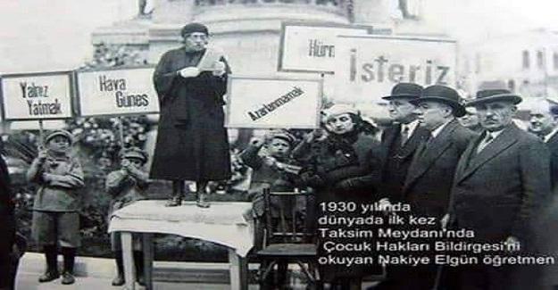 Genç Cumhuriyet, dünyada çocuklar için bir bayram kutlayan ilk ve tek rejim oldu.