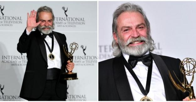 Haluk Bilginer Şahsiyet Dizisindeki Rolüyle Uluslararası Emmy Ödülü'nü Kazandı