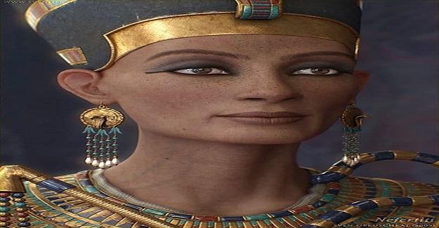 Mısır Diyarının Güçlü ve Güzel Kraliçesi Nefertiti..