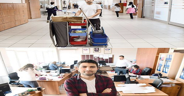 Okulda Hizmetliydi, Sınıfları Temizledi, Azmetti Üniversiteyi Bitirdi Şırnak'a Öğretmen Olarak Atandı