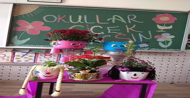 Okullar çiçek açsın