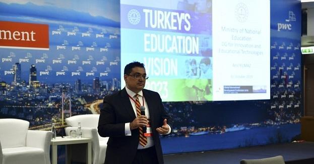PWC Küresel Gelişme Konferansı'nda 2023 Eğitim Vizyonu ve Eğitim Teknolojileri alanında yapılanlar tanıtıldı
