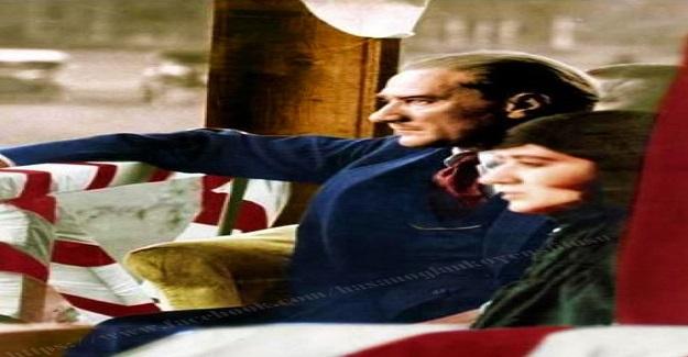 Saat 9'u 25 geçe... Matem halindeki Dolmabahçe Sarayı tek bir el silah sesiyle irkildi.....