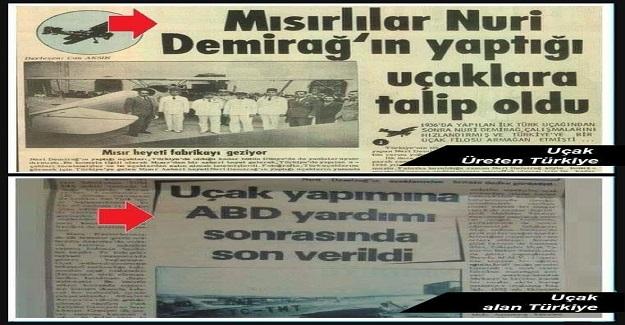 YERLİ UÇAK, YERLİ ve MİLLİ OLMAYAN SİYASETÇİLER İLE, 1952'DE UÇTU GİTTİ!!