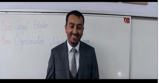 Yozgat'ta iki öğretmen meslektaşlarının gördüğü şiddete 'hayır' demek için kısa film çekti