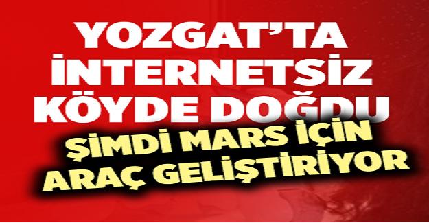 17 Yaşındaki Elif Yozgat'ta İnternet Dahi Olmayan Bir Köyde Doğdu, Şimdi Mars İçin Araç Geliştiriyor