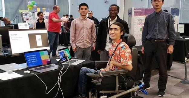 Google'dan Burs Alan İlk Türk Engelli , Yerli Hawking Diye Anılan Murat Can'ın Büyük Başarısı