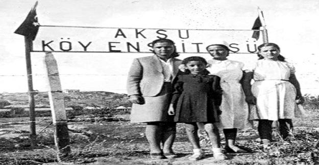 Köy okulunda iki öğretmen vardı. Biri ben, diğeri Van Erciş Köy Enstitüsü mezunu bir arkadaş.