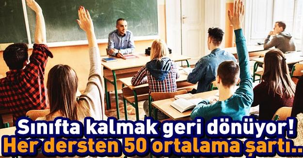 Öğrencilere Kötü Haber: Yeni Sistemle Birlikte Sınıf Geçmek Zorlaşacak Ve Her Dersten 50 Puan Gerekecek