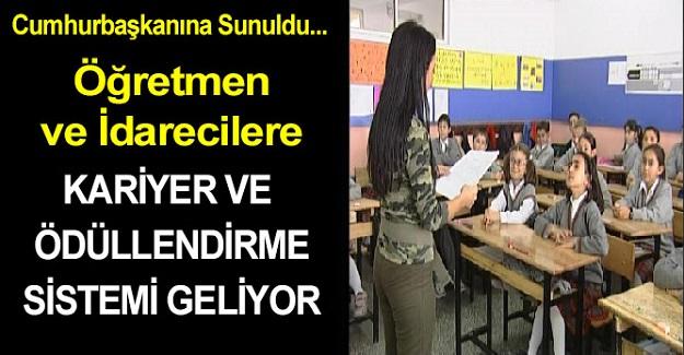 Öğretmenlere ve Okul Yöneticilerine Ödüllendirme Sistemi Geliyor: Cumhurbaşkanı Erdoğan'a Sunuldu
