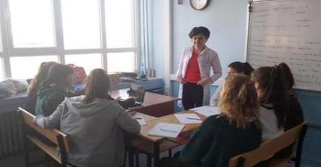 Ukrayna'da Ayın Projesi Mimar Muslihiddin'nin Mesleki ve Teknik Anadolu Lisesinin