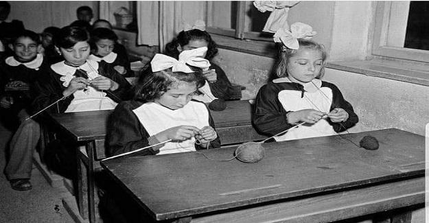 Yıl 1935-1953 Okullarda, Labaratuvarlar, Harita, Müzik odaları vardı