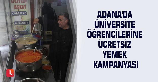 Adana'lı Esnaftan Üniversite Öğrencilerine Ücretsiz Yemek Kampanyası