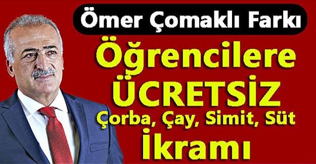 Atatürk Üniversitesi Rektörü Ömer Çomaklı'dan öğrencilere büyük jest.