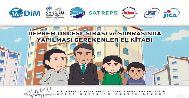 Bakan Ziya Selçuk Açıkladı: Öğretmenlere, Velilere ve Öğrencilere Yönelik Deprem Kitapçıkları Çıkartıyoruz