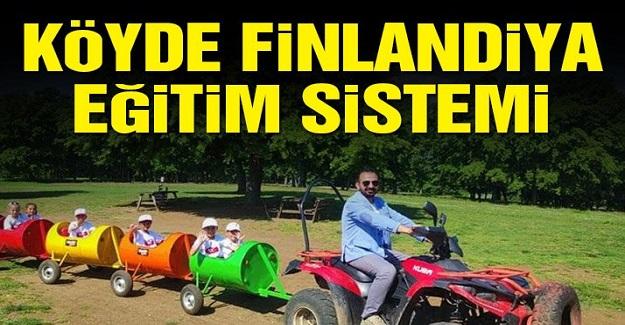 Bu Köyde Finlandiya Eğitim Sistemi Uygulanıyor.