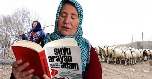 Çobanlık Yapan İlkokul Mezunu 55 Yaşındaki Esme Demirtaş'ın En Büyük Zevki Kitap Okumak