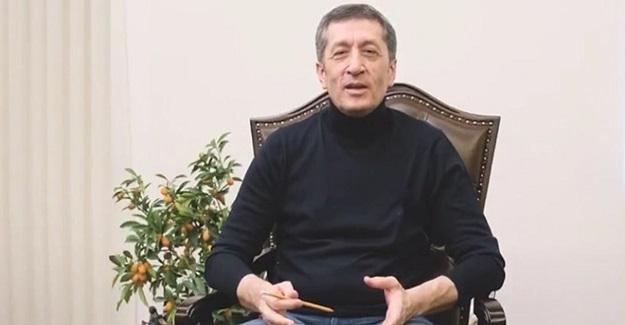 Milli Eğitim Bakanı Ziya Selçuk'tan Öğrencilere Yarıyıl Tatil Mesajı