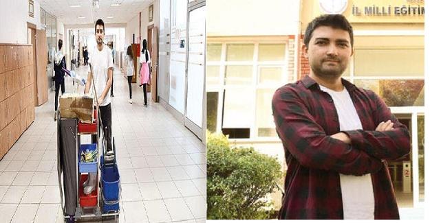 Okulda Hizmetliyken Öğretmen Olarak Atandı, Şimdi de Doktora İçin Yurt Dışına Çıkıyor