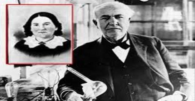 Thomas Edison bir gün eve geldiğinde annesine bir kağıt verdi