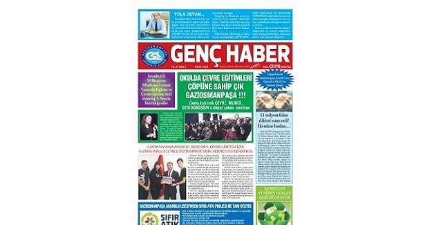 Türkiye'de Bir İlk Gerçekleşti. Lise Öğrencileri Okul Ve Çevre Gazetesi Çıkardı