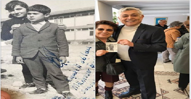 Yıl 1967. Yer, Demirci İlköğretmen Okulu.