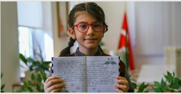 10 yaşındaki Elanur, matematik yarışması'nda dünya birincisi