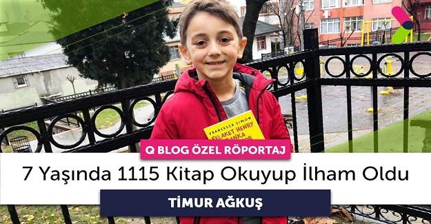 2. Sınıfa Giden Timur Aktaş, 7 Yaşında 1115 Kitap Okuyarak Rekor Kırdı