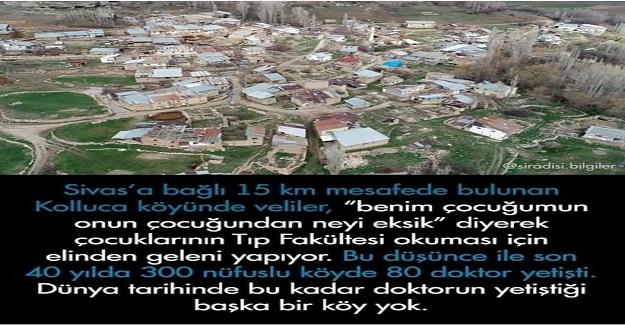 300 Nüfuslu Köyde Benim Çocuğumun Onun Çocuğundan Neyi Eksik Diyen Veliler Sayesinde, 80 Doktor Yetişti