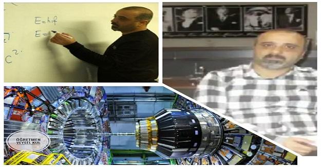 Alper KILIÇ, Avrupa Nükleer Araştırma Merkezi (CERN) yolcusu. Yolun açık olsun Alper Öğretmenim...