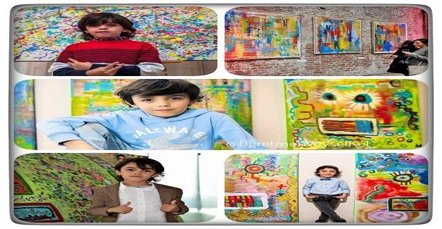 """Dünya, 7 Yaşındaki """"Minik Picasso"""" Mikail'i konuşuyor..."""