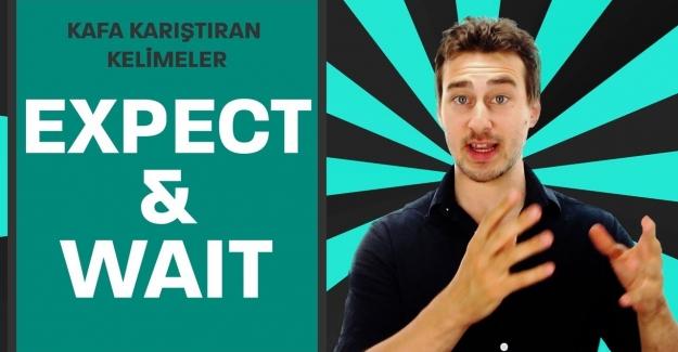 Expect ve Wait Kelimeleri arasındaki farklar