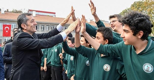 Milli Eğitim Bakanı Ziya Selçuk Elazığ Depremini Yaşayan Öğretmen Ve Öğrencilerle Buluştu
