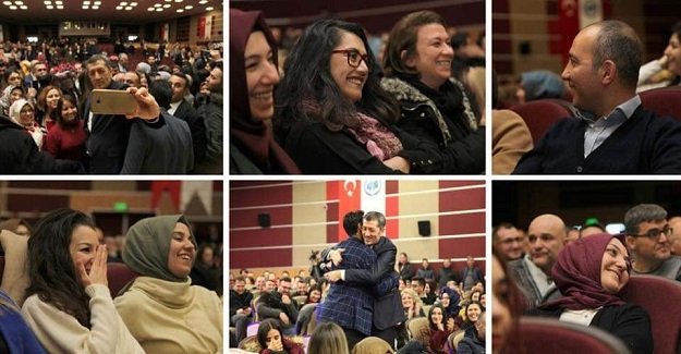 Milli Eğitim Bakanı Ziya Selçuk Karaman'daki Öğretmenlerle Birlikteydi