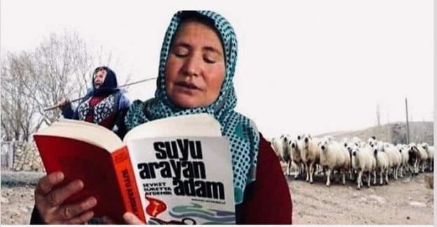 Sadece Erkek Kardeşlerini Okutan Bir Ailede Doğan Esme Demirtaş Çobanlık Yaparken Sevdiği Tek Şey Kitap Okumak