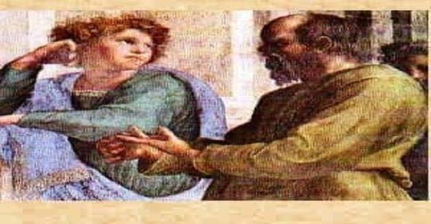 Sokrates bir gün öğrencileriyle sokakta ders yaparak yürümektedir ve anlattığı konu da evliliğin faziletleridir.